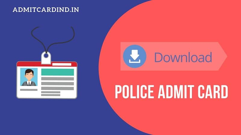 Police Admit Card